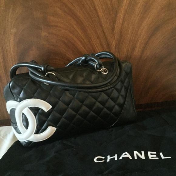 241a3142ba67 CHANEL Handbags - Used 2005 CHANEL Ligne Cambon Bowler Bag